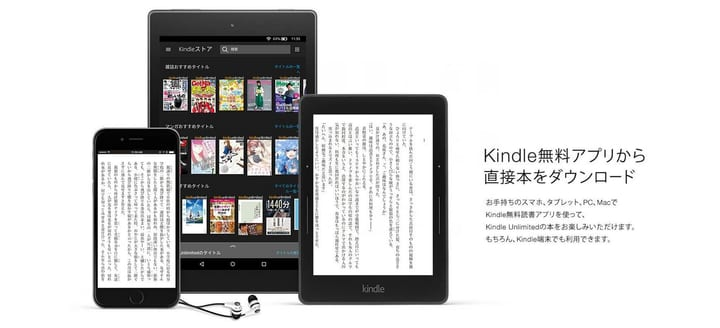 Kindle Unlimitedの利用イメージ