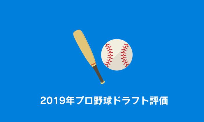 2019年プロ野球ドラフト評価