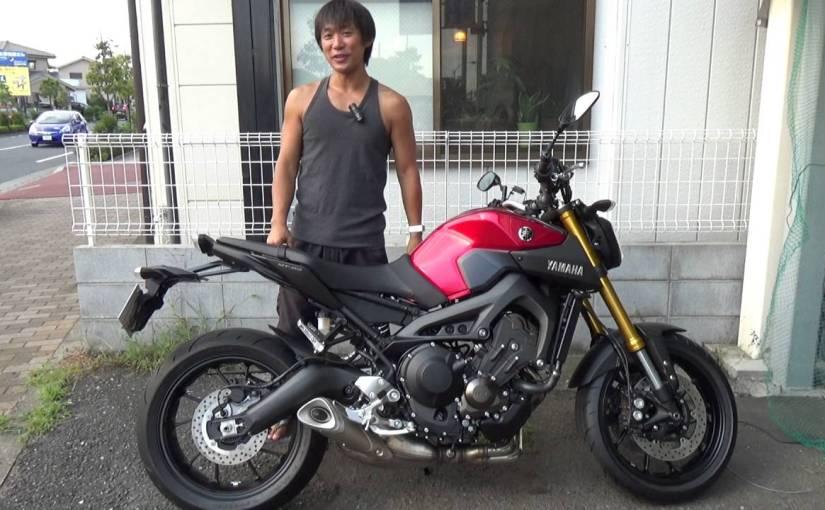 MT-09はバカの乗るバイクらしいが?
