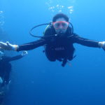 宮古島でボート体験ダイビング