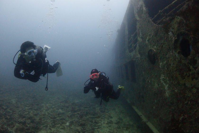 宮古島ファンダイビング 沈船