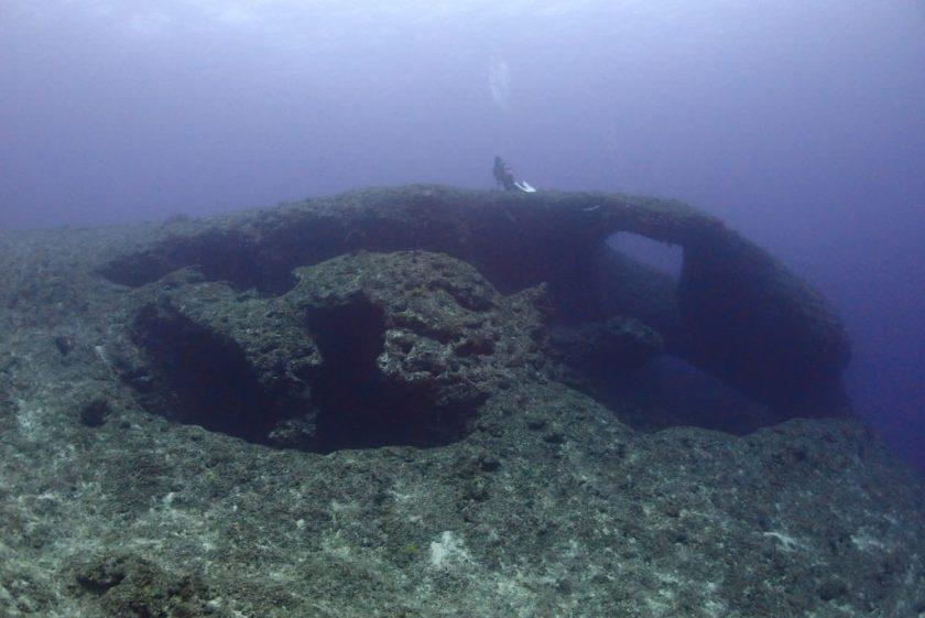 下地島でボート体験ダイビング。