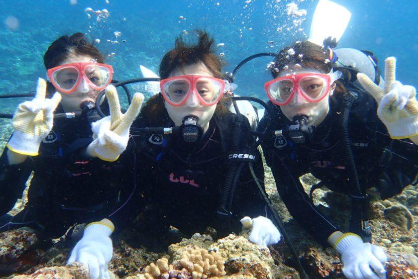 宮古島体験ダイビング