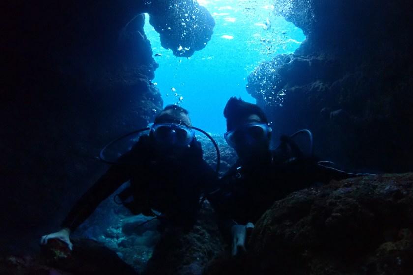 宮古島体験ダイビング・ツインホール
