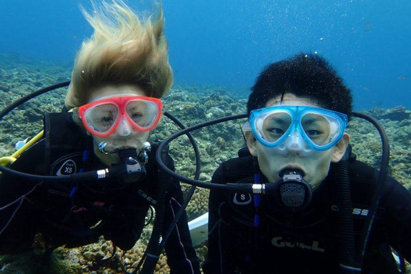 宮古島体験ダイビング・オーバーハング