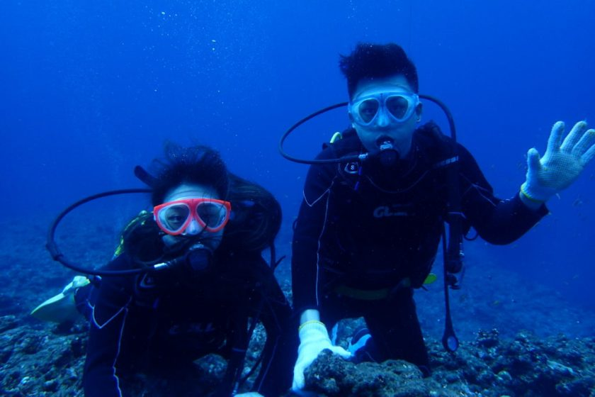 宮古島ボート体験ダイビング