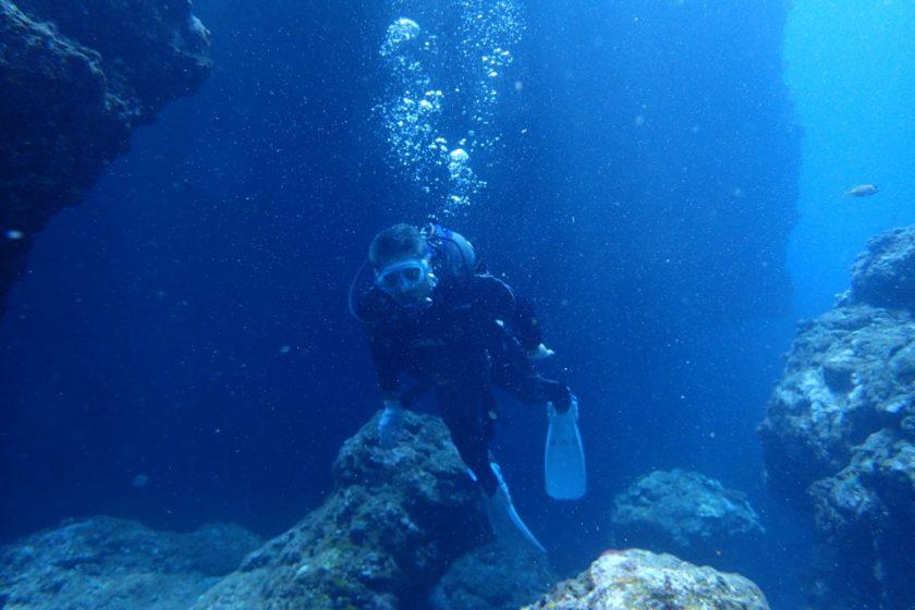 Wアーチ・体験ダイビング