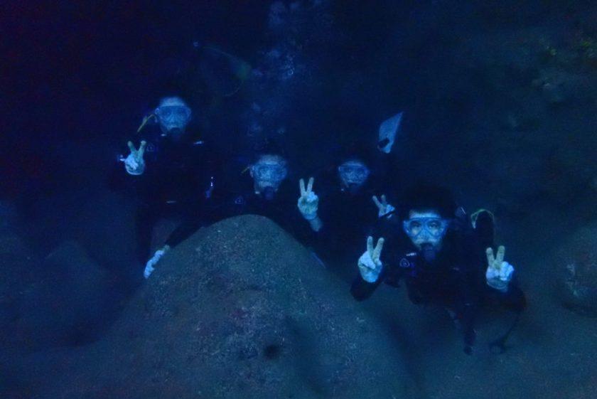 ツインホール・体験ダイビング