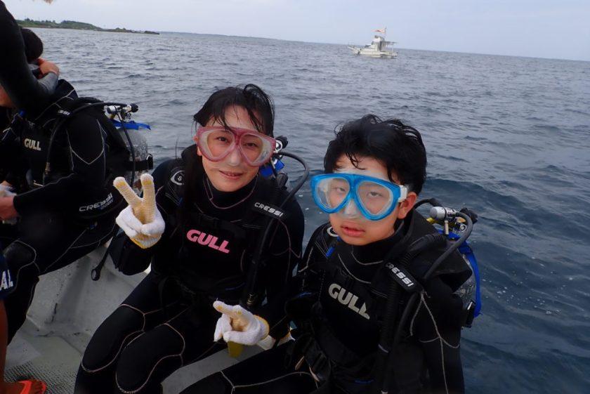 親子で体験ダイビング