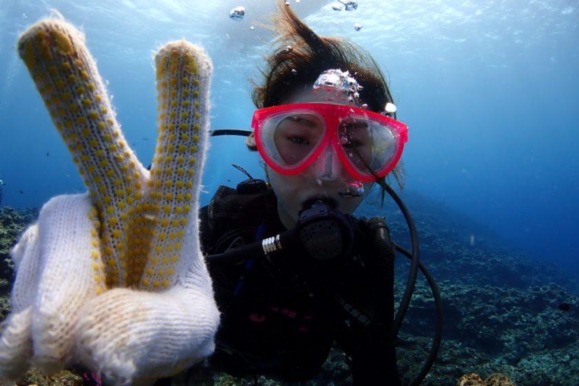 宮古島で初めての体験ダイビング