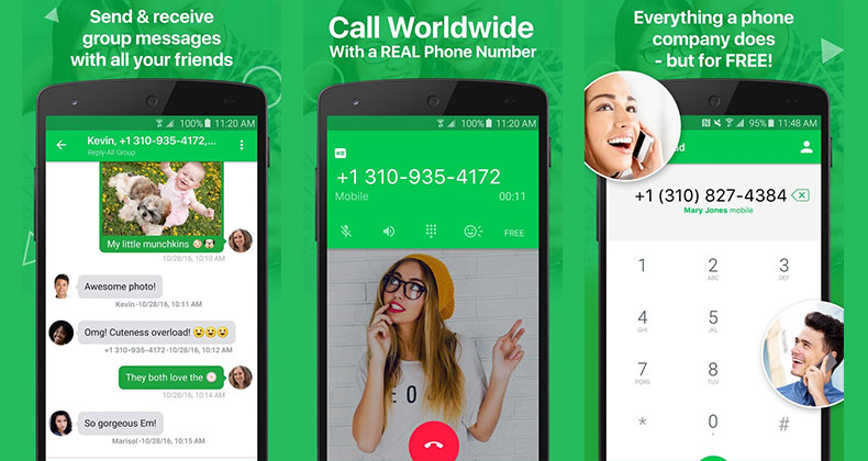 Text Plus Free virtual phone number for WhatsApp verification