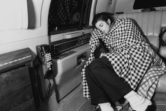 MJ Sleeping