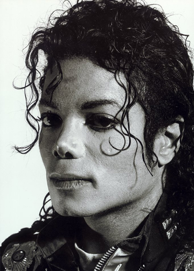 Helnwein's portrait of Michael
