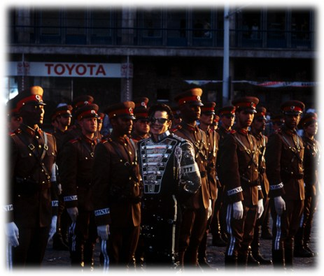 MJ and Army 777