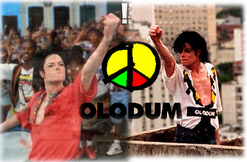Olodum, TDCAU and Michael's Black Power Salute