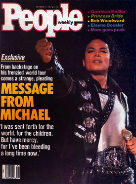 """The press negatively defined Michael's letter as """"twisted, strange, frenzied, and pleading"""""""
