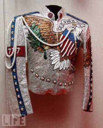 Michael's jacket worn during the DC performance. Notice the '777' on the sleeve.