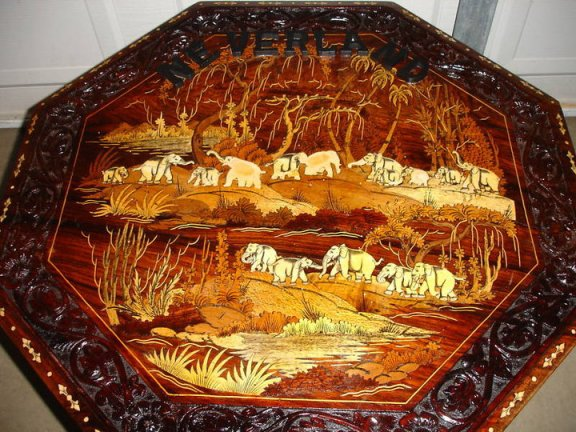 Handcrafted Table, Topside