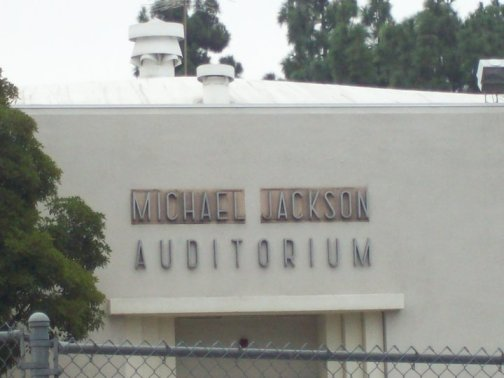 Michael Jackson's Name Uncovered (Photo © Betty Byrnes)