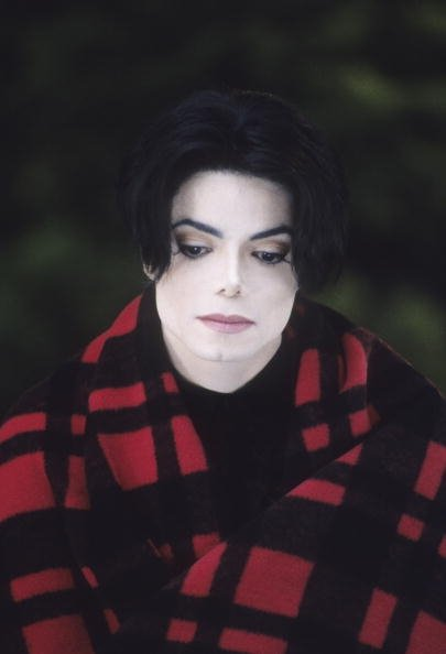 Michael looking very sad and hurt