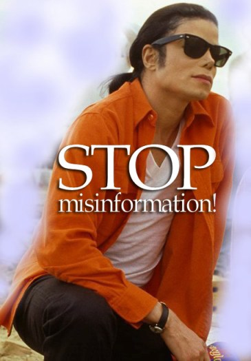 STOP Misinformation about Michael Jackson's death