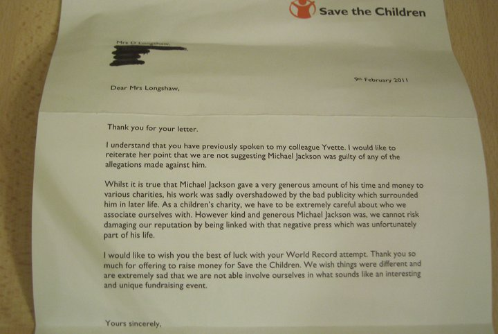 "Letter from Save the Children about not saving children, but their ""reputation"""