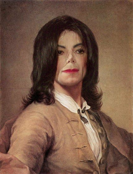One of Helena's portraits of Michael