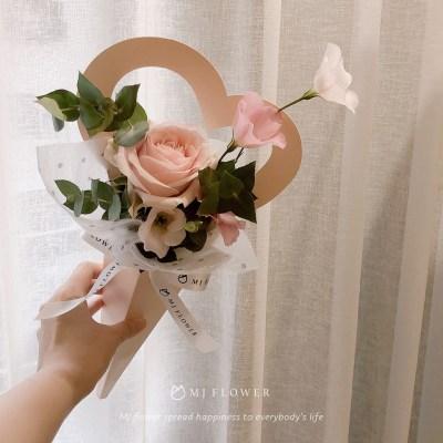 玫瑰單支花束