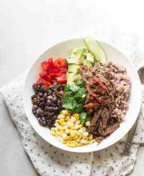 Tex-Mex Beef Fajita Grain Bowl