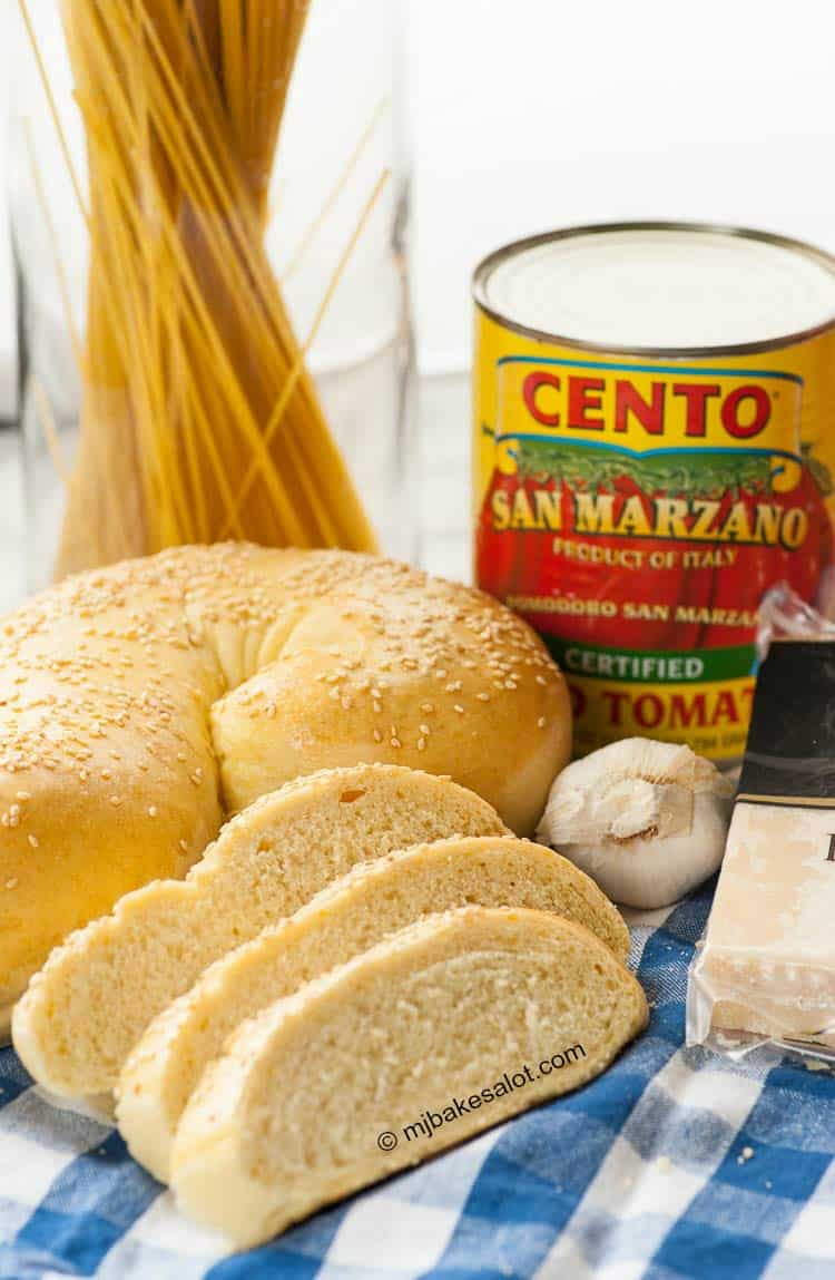 Easy But Impressive Golden Italian Semolina Bread