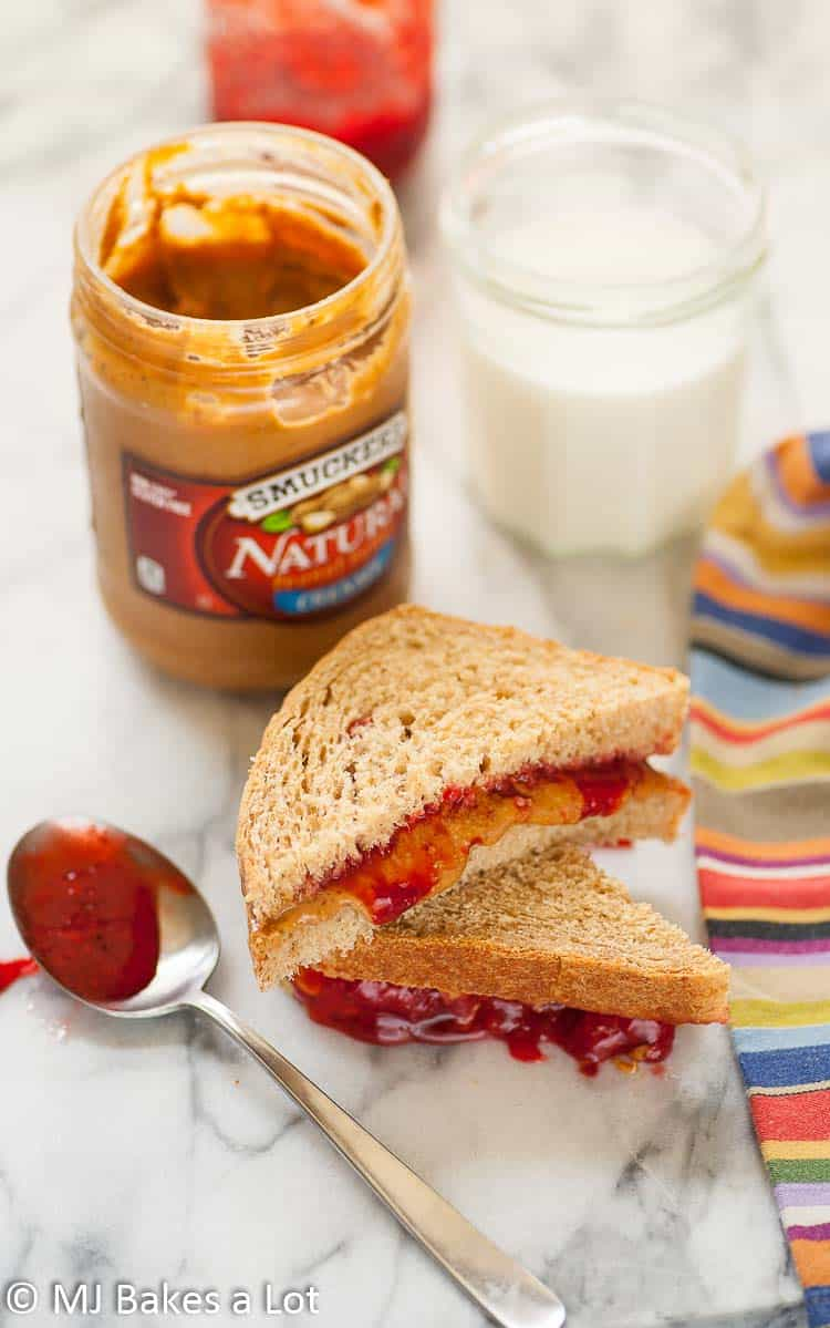 Malted Wheat Sandwich Bread For The Perfect PB&J