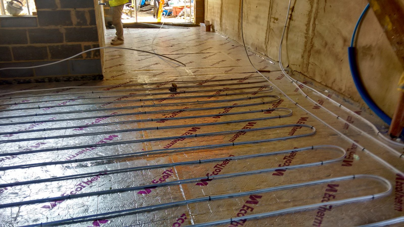 Wet Underfloor Heating Mj Build And Management Ltd