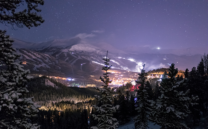 Breckenridge Winter Night
