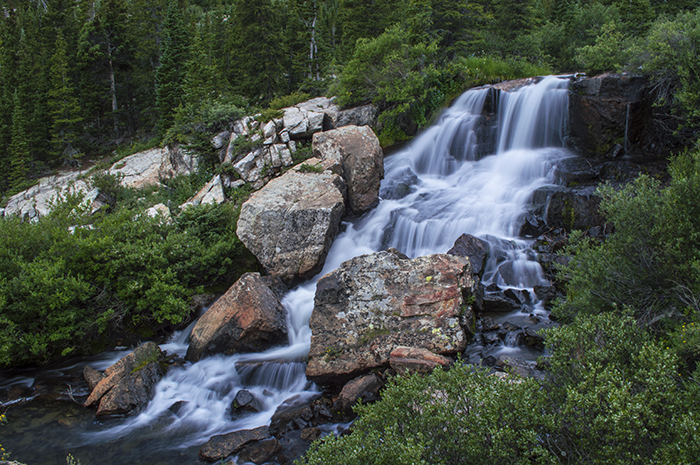 Blue Lake Falls