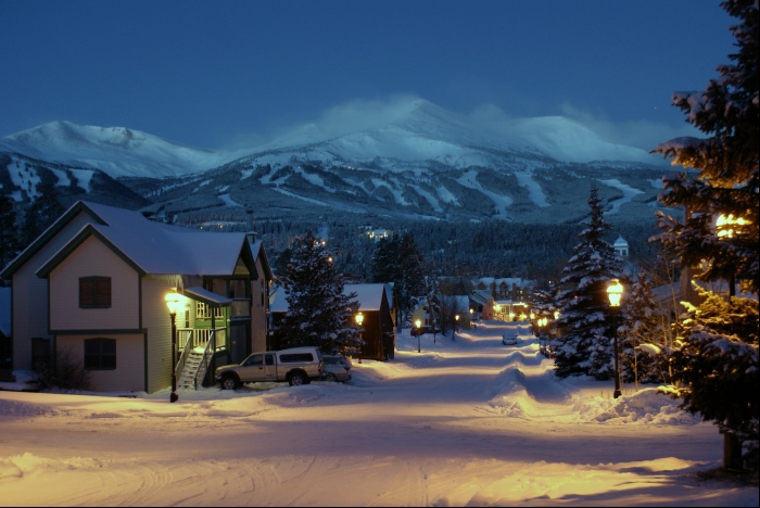 Breckenridge Colorado Morning