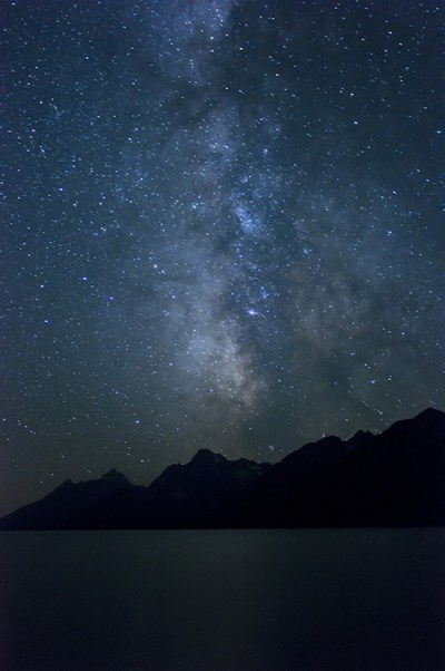 Grand Tetons Milky Way