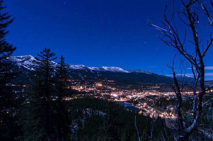 Breck Under a Full Moon