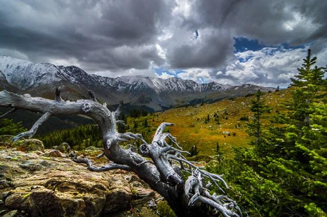 Hiking Over Loveland Pass