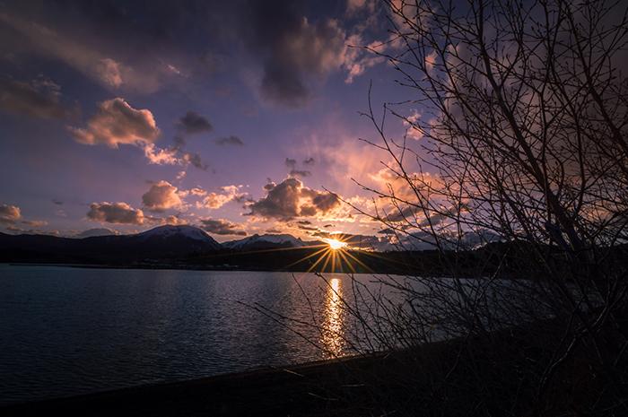 Lake Dillon Evening Sunset