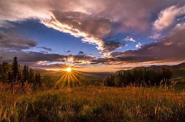 Telluride Mountain Sunset