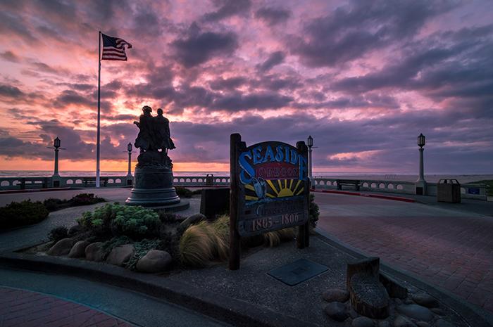 Seaside Oregon Sunset