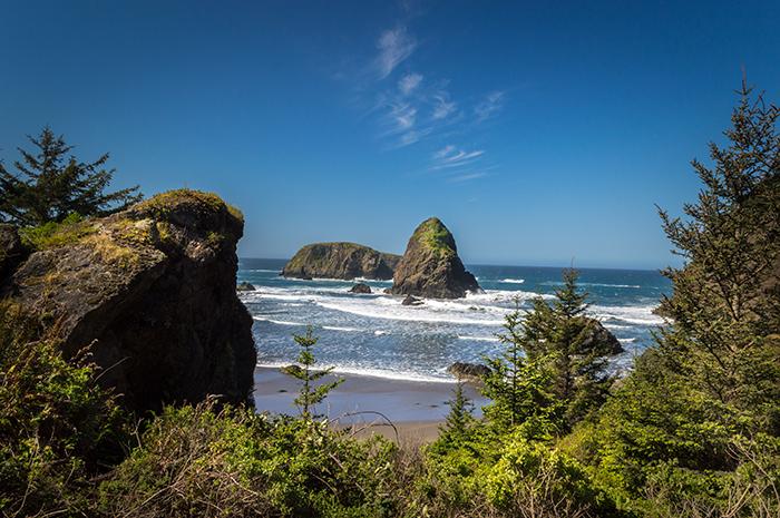 View along Oregon Coast