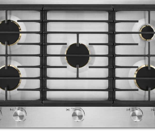 Jenn Air 36 Gas Cooktop Stainless Steel Jgc3536gs