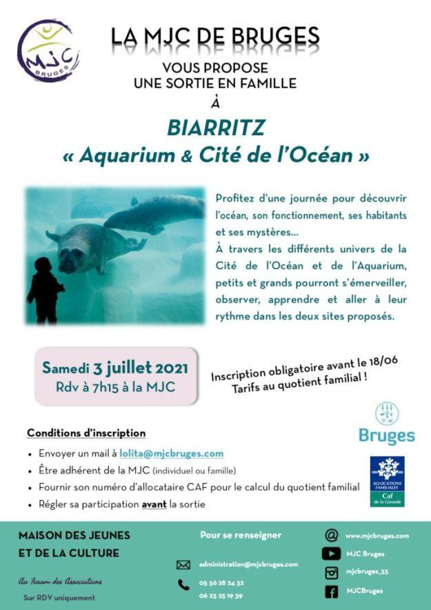 Sortie en famille - Biarritz - Aquarium & Cité de l'Océan