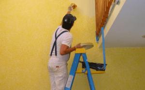 painting walls