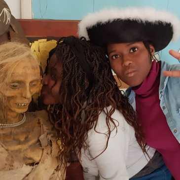 Vanessa et Fatoumata à l'Usine de Tournefeuille