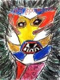 Barbara Guerout. Sans titre. Pastel papier. (2)