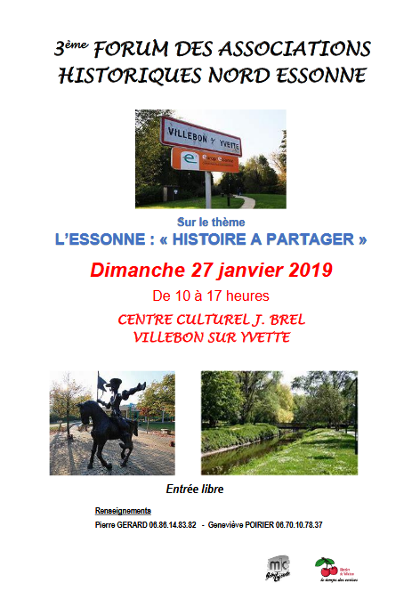 3ème forum des associations historiques du Nord Essonne
