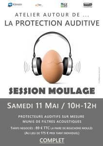 Atelier autour de la protection auditive @ MJC BOBY LAPOINTE