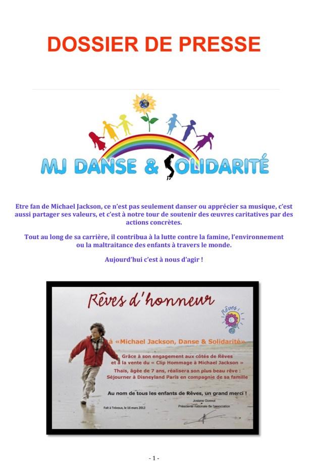 Dossier-de-presse MJ Danse & Solidarité page 1